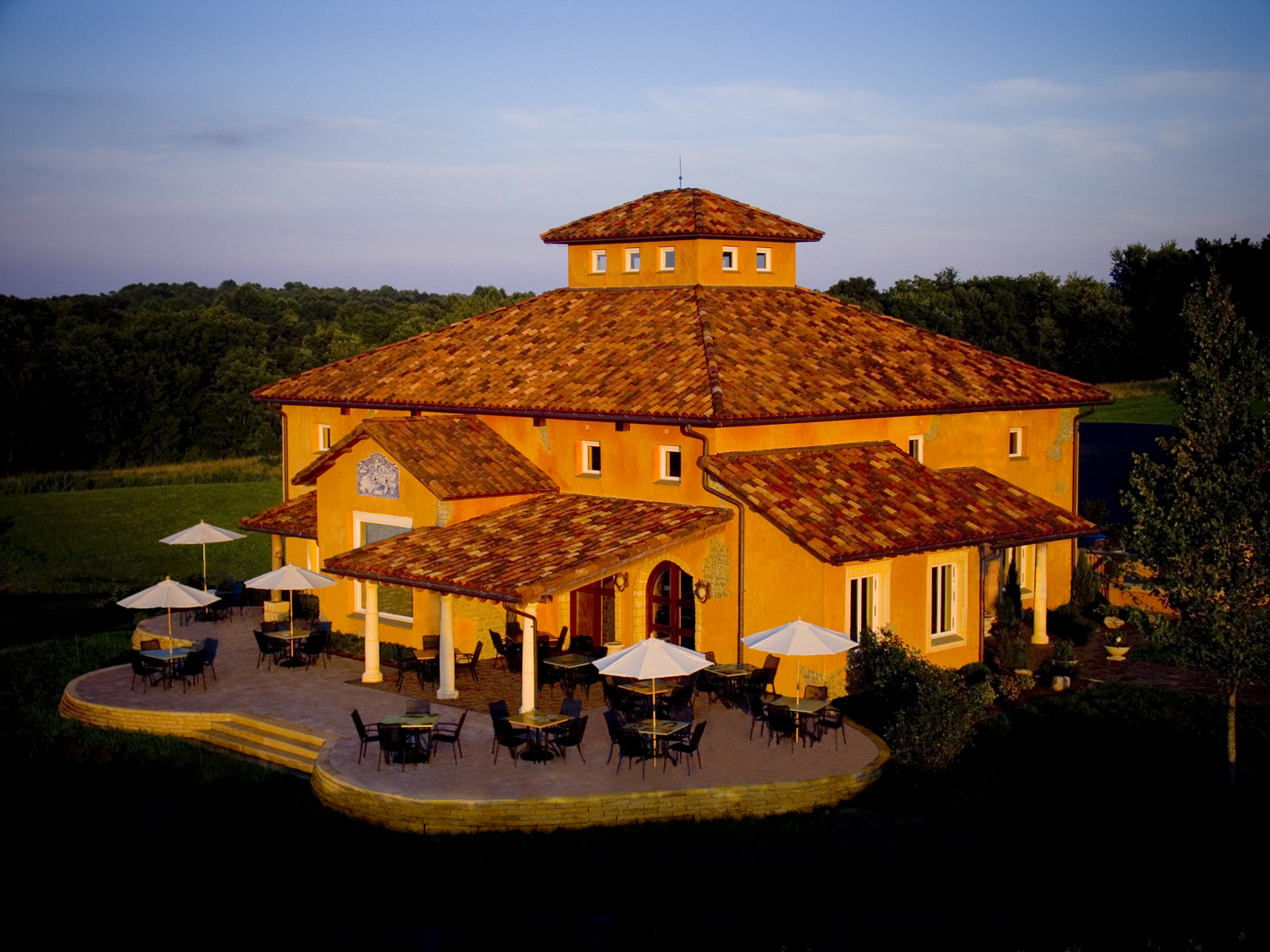 The Romance Of Italy Blue Sky Vineyard Southern