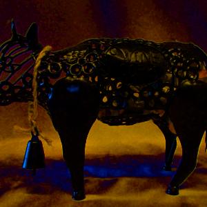 Artisinal Cow Cork Cage