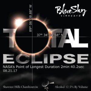 Solar Eclipse Label