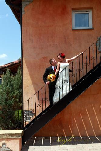 Blue Sky Vineyard Suite Stairs