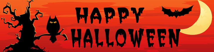 Happy Halloween Banner 18 Blue Sky Vineyard Southern Illinois Winery