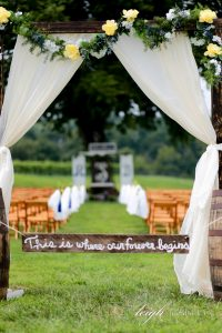 Outdoor Winery Wedding