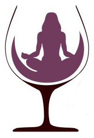 Yoga Pose in Wine Glass